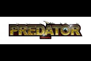 FF Predator Sticker/Size 5x20 cm