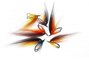 FF Double Hook Flies Single